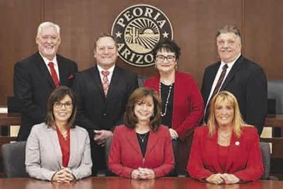 Peoria Mayor Cathy Carlat and Peoria City Council