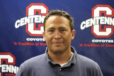 Steve Ybarra Centennial track and field coach