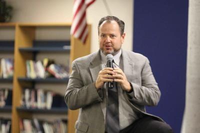 Jim Migliorino, deputy superintendent of DVUSD