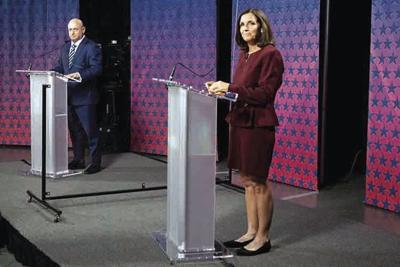 Democrat Mark Kelly and Republican Sen. Martha McSally