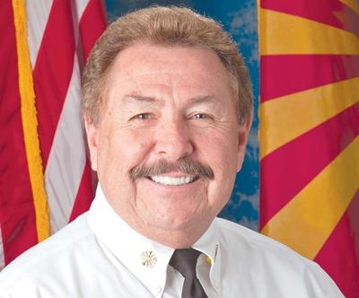 Peoria Fire Chief Bobby Ruiz