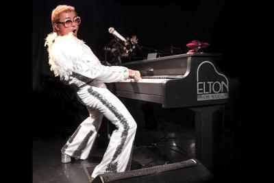 young Elton John at Arizona Broadway Theatre