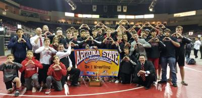 Peoria council recognizes Liberty wrestling team
