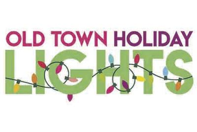 old town holiday lights