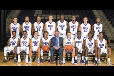 The GCU basketball team