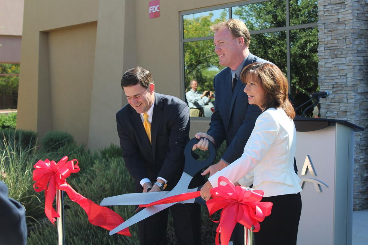 Aviage Systems' ribbon cutting