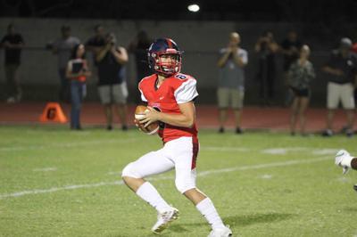 Senior quarterback Jonathan Morris
