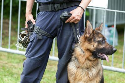 Citizens helping PD acquire bomb detection K-9 Kawaii Sushi