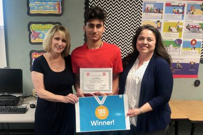 Centennial student recognized for Read 180 growth