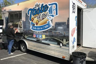 Detroit native celebrates hometown with food truck