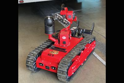 The NED Hazmat 193 robot's