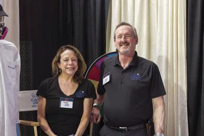 Mary Stringer and her husband, Steve Whaley