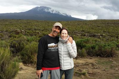 Gene and Jo Ann Taylor Mount Kilimanjaro