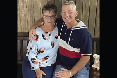 Pam and Gary Cawley