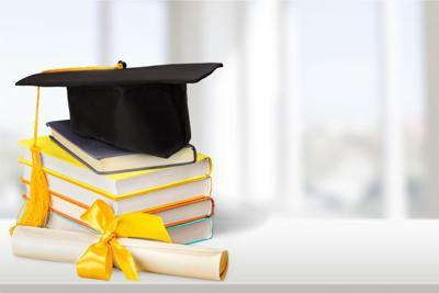 Graduation, Diploma, Mortar Board.