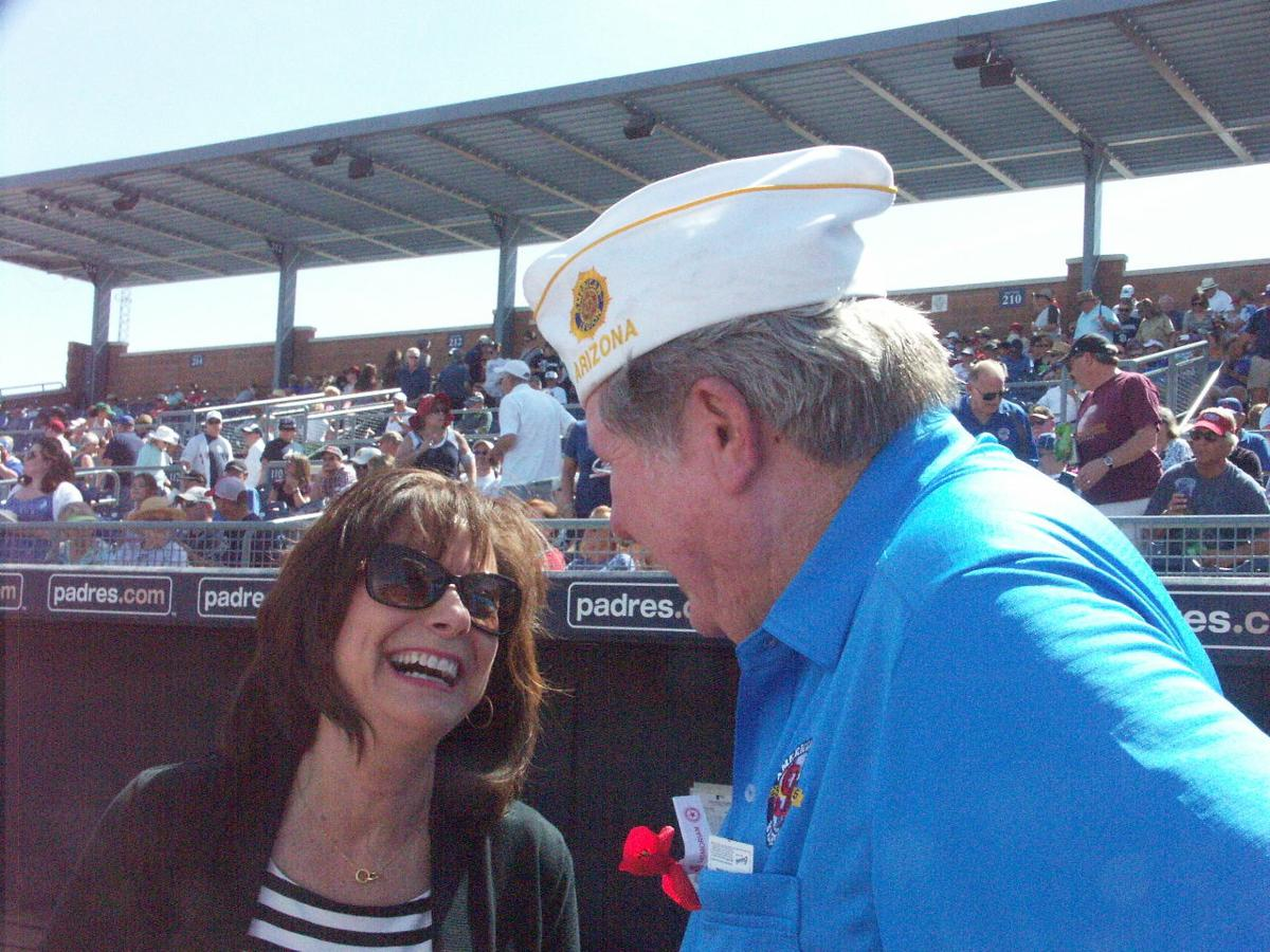 Mayor Carlat and Dept Commander Ellis