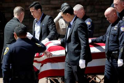 Funerals shouldn't be the only time we honor police