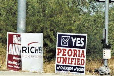 bonds and overrides Peoria