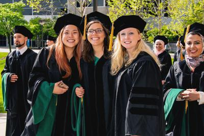 Midwestern celebrates master's and doctoral graduates