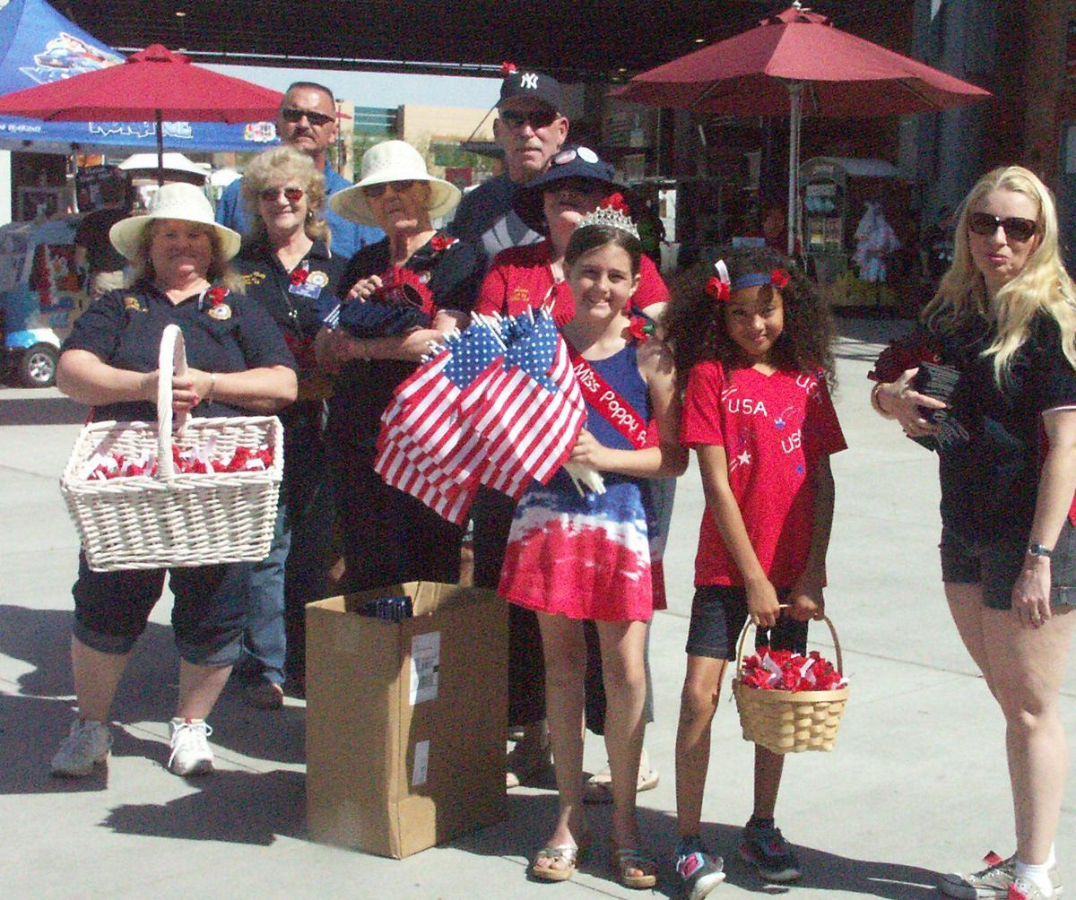 American Legion greeters