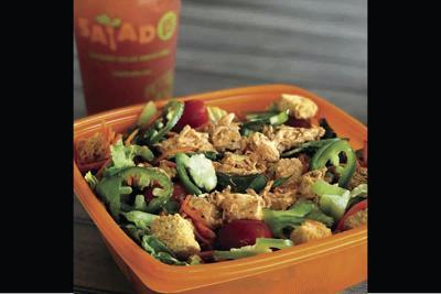 Salad and Go's Buffalo Chicken Salad