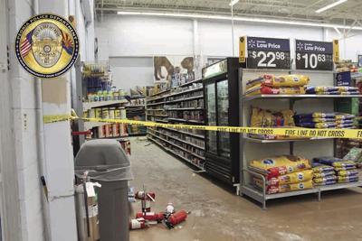 Walmart stores Peoria Fires