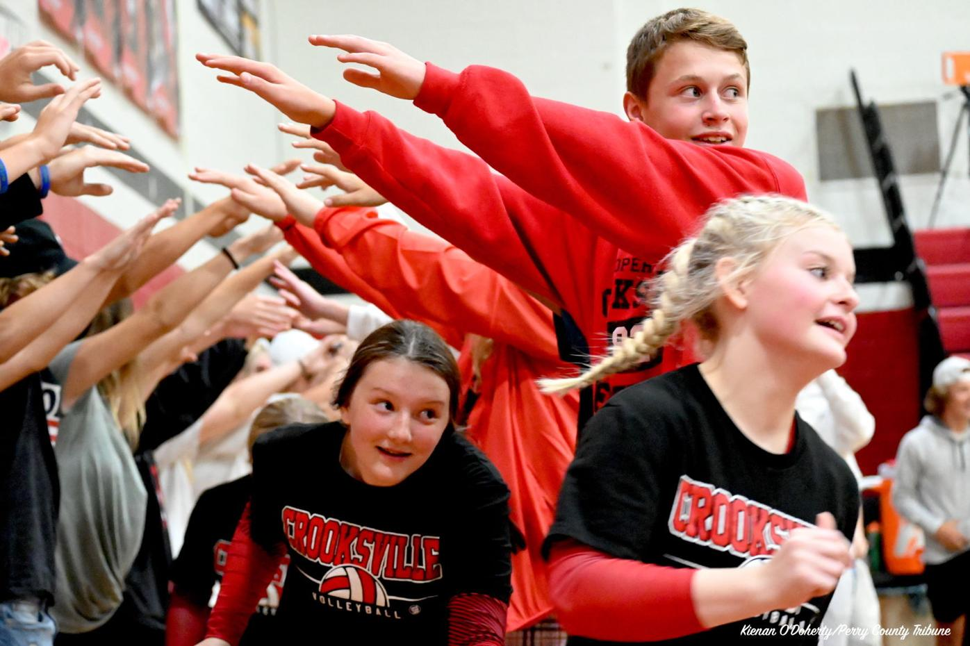 Volleyball: Crooksville vs West Muskingum 9/30/21