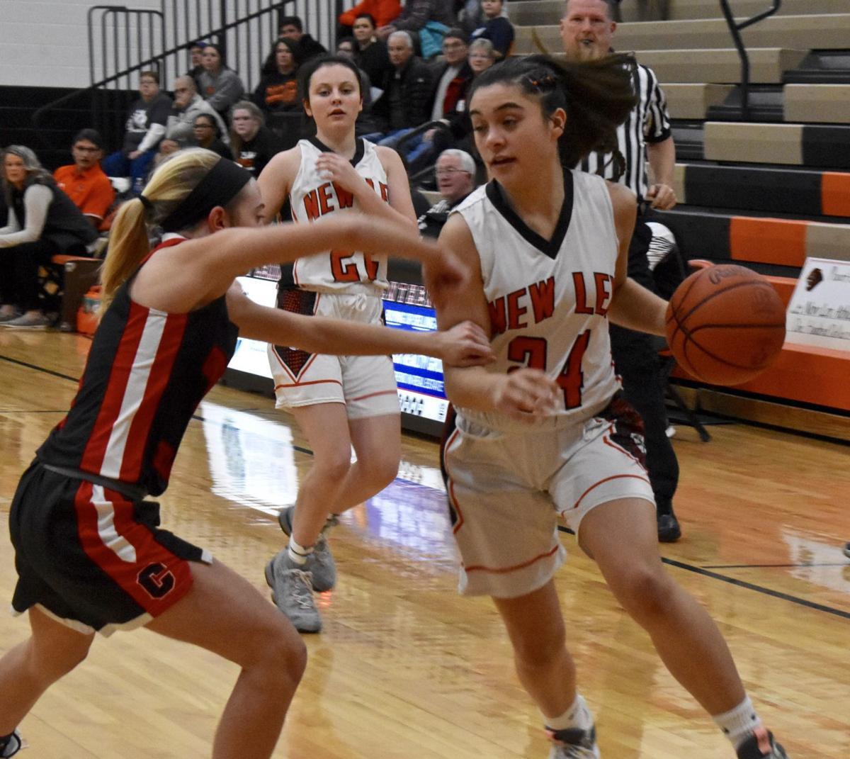 New Lex vs Crooksville Girls Basketball