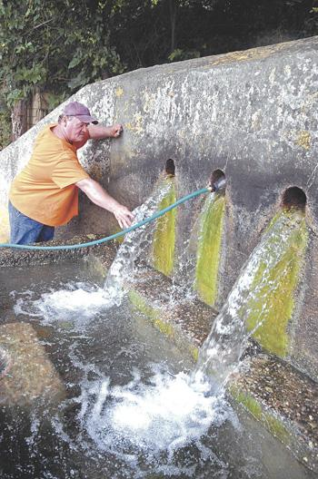Waterhole fills the thirst of residents