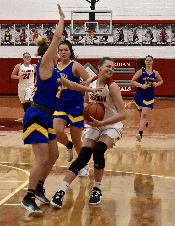 Sheridan Girls vs Maysville Basketball