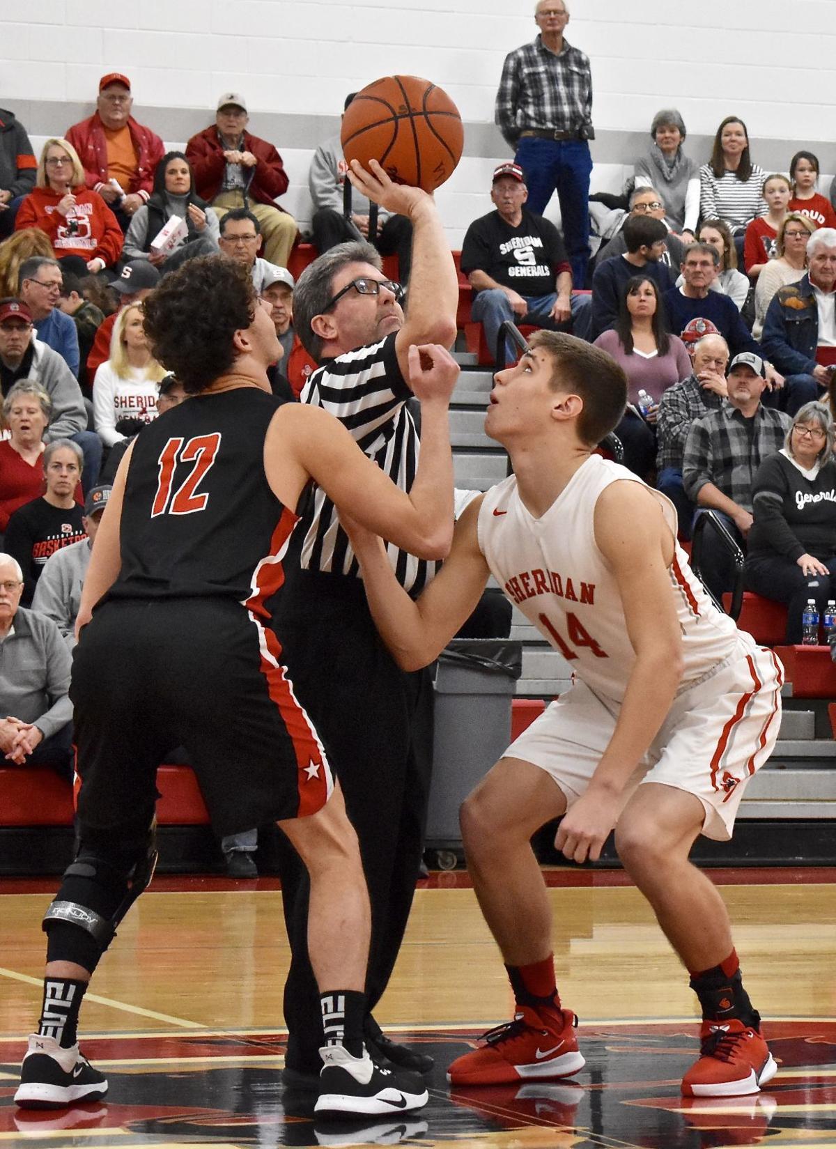 Sheridan vs Crooksville Boys Basketball
