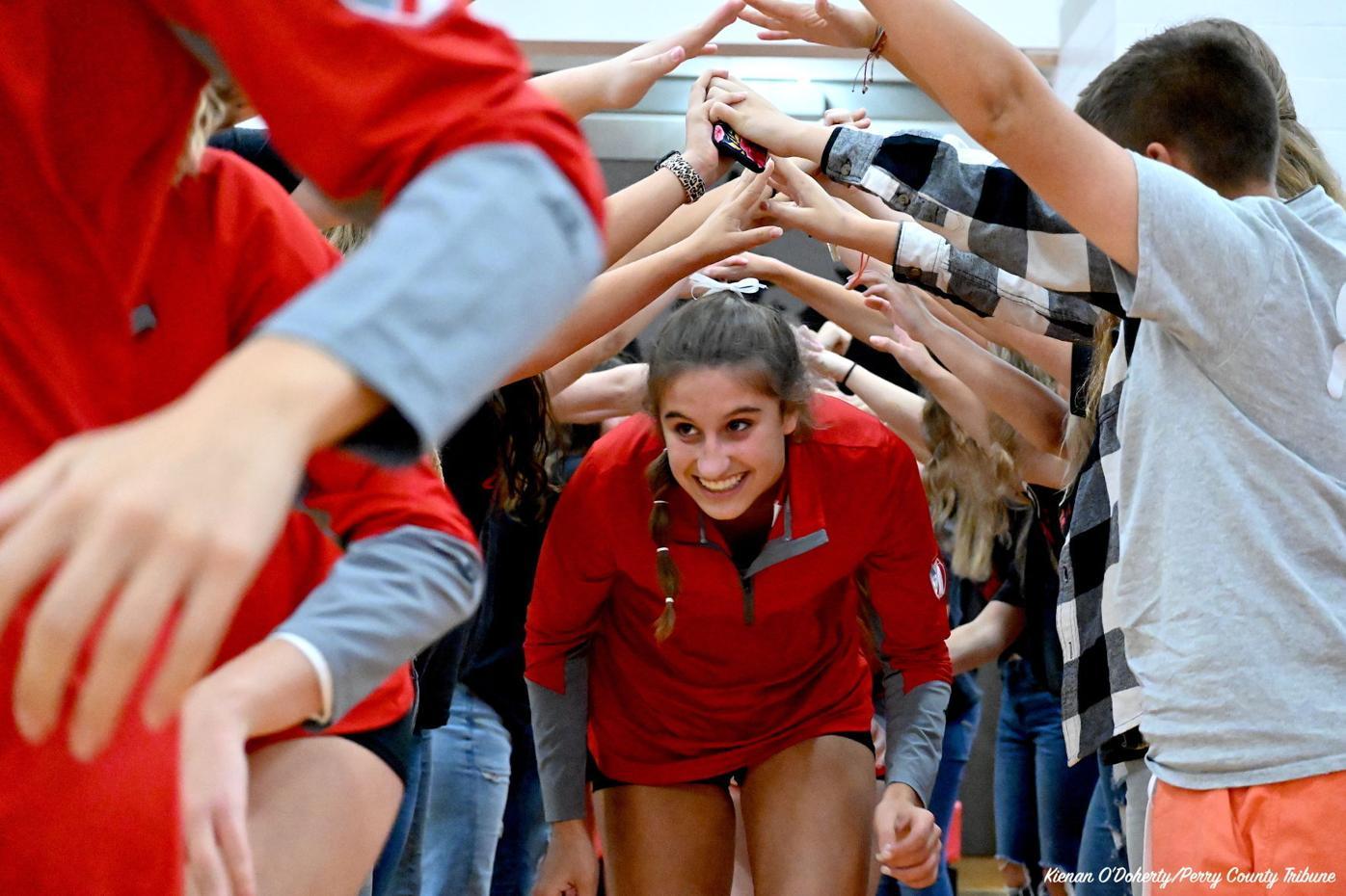 Volleyball: Sheridan vs Tri-Valley 9/28/21