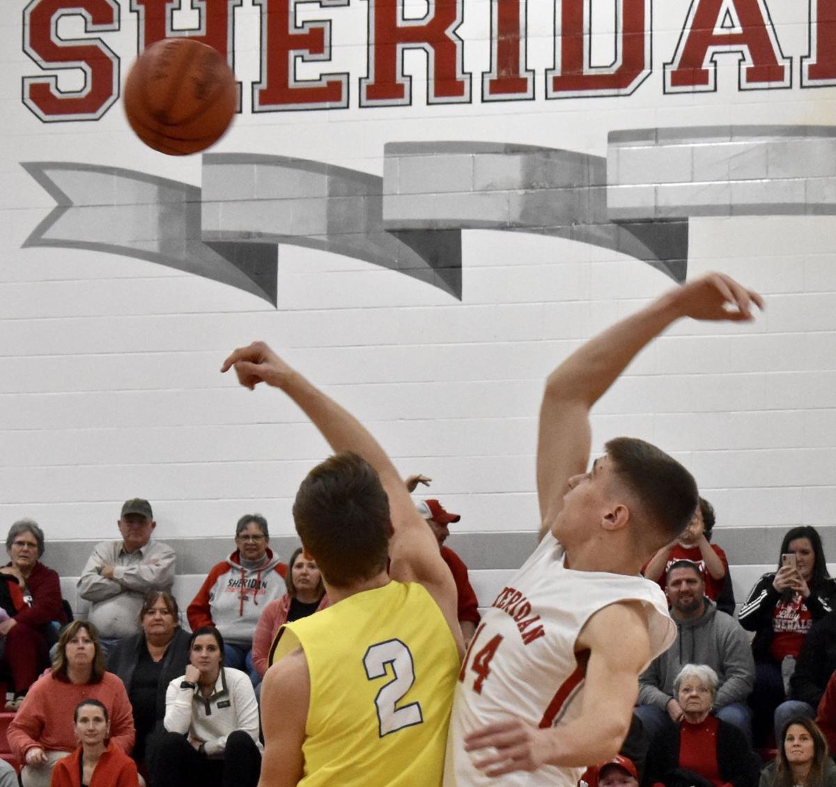 Sheridan vs Maysville Boys Basketball