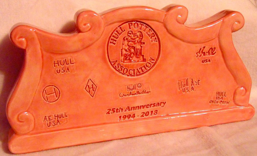 2018 Hull Pottery Association (HPA) Commemorative