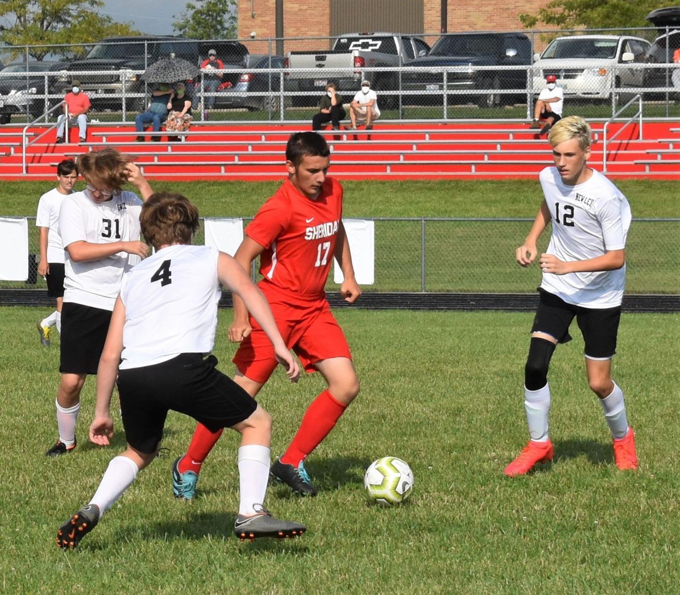 New Lexington vs Sheridan Boys Soccer