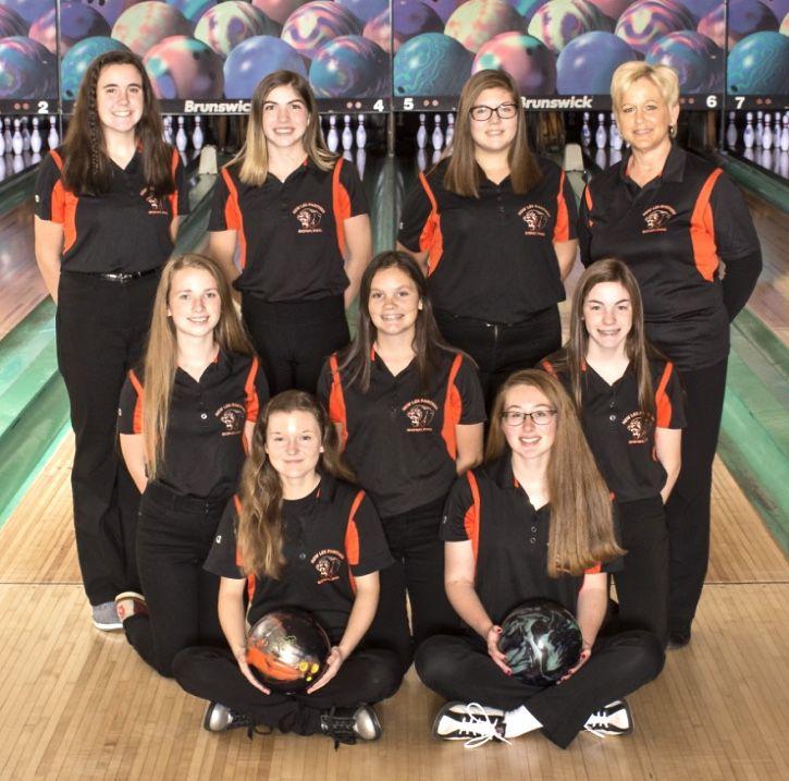 New Lex girls bowling team