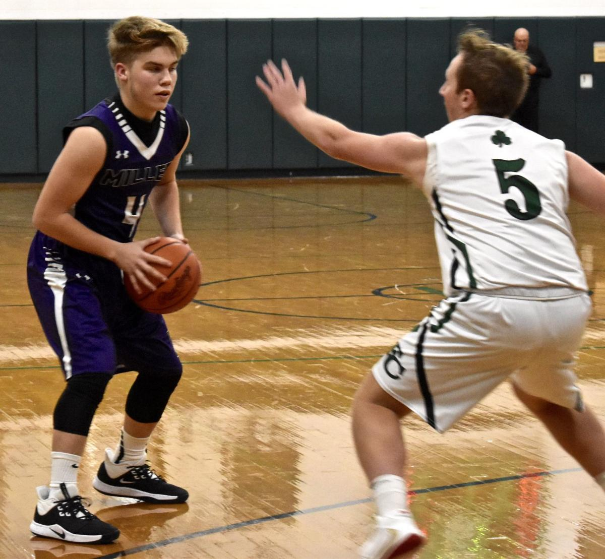 Miller at Fisher Catholic Boys Basketball