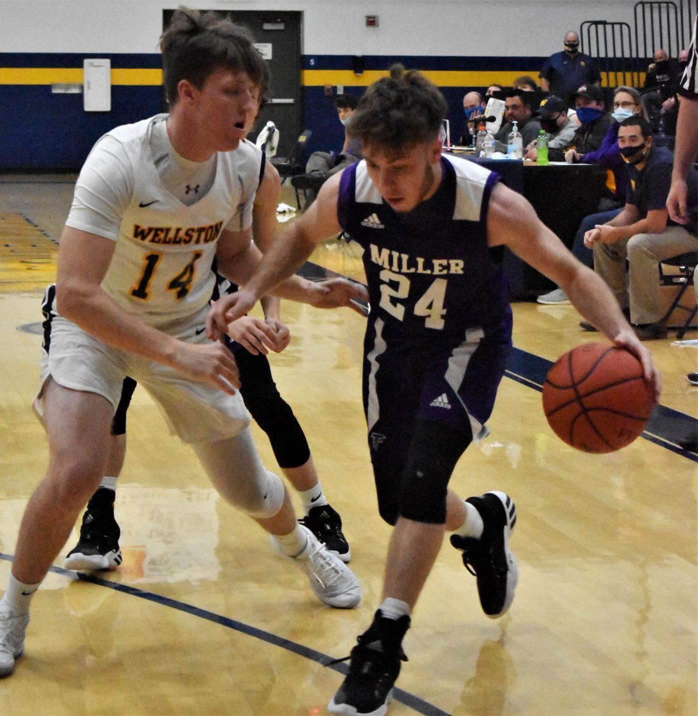 Miller vs Wellston Boys Basketball
