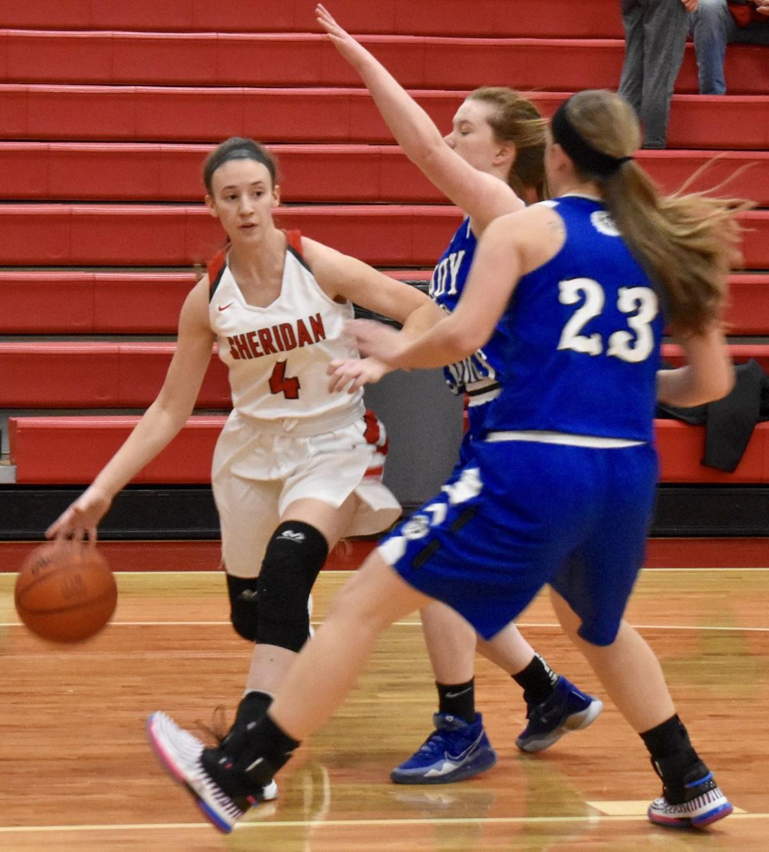 Sheridan vs Washington Court House Girls Basketball