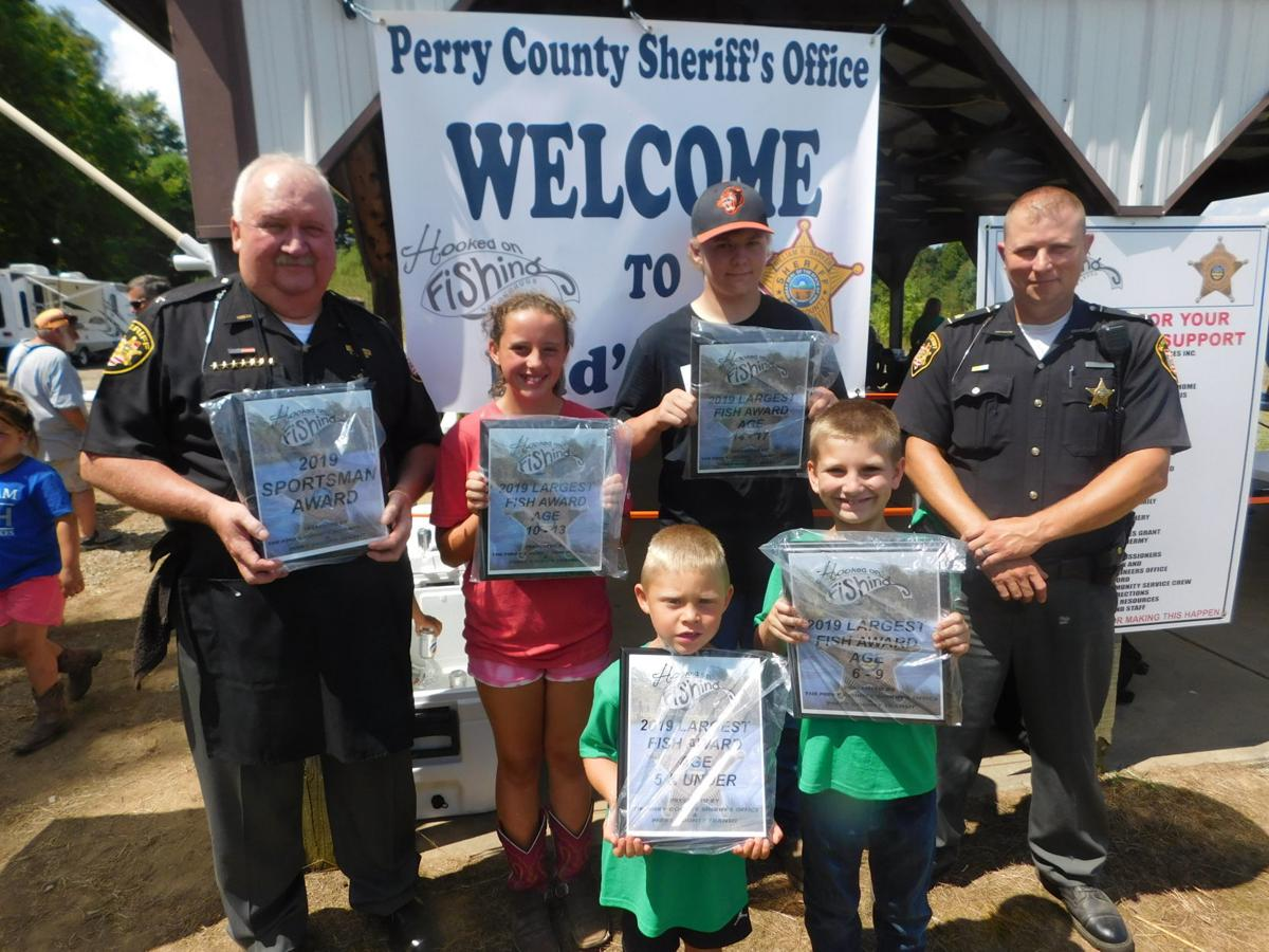 Fishing derby winners