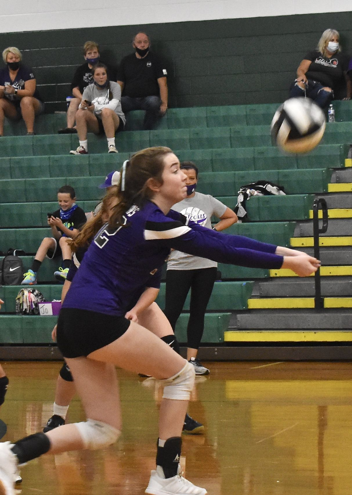 Miller vs Fisher Catholic Volleyball