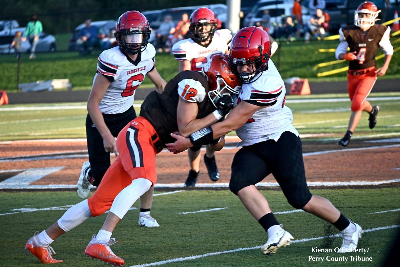Football: Crooksville @ Meadowbrook 9/10/21