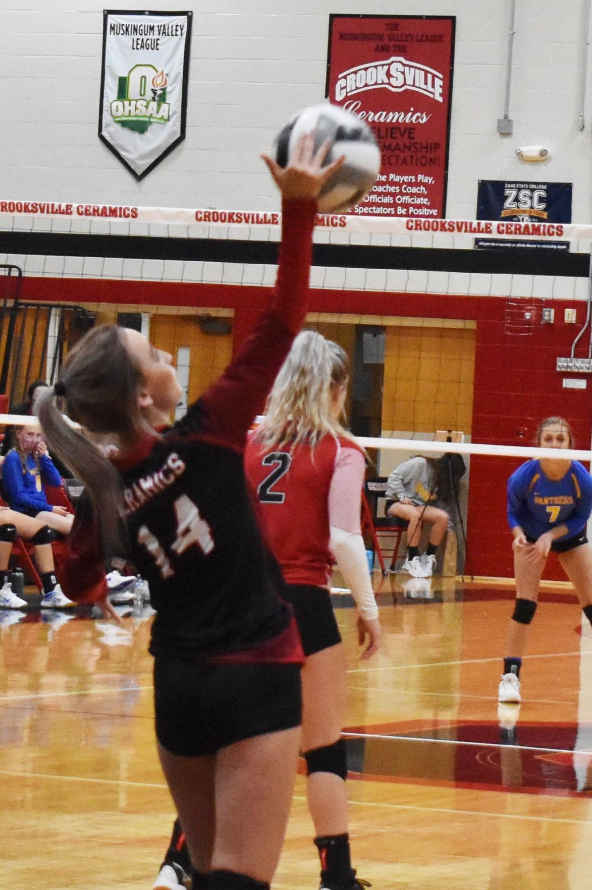 Crooksville vs Maysville Volleyball
