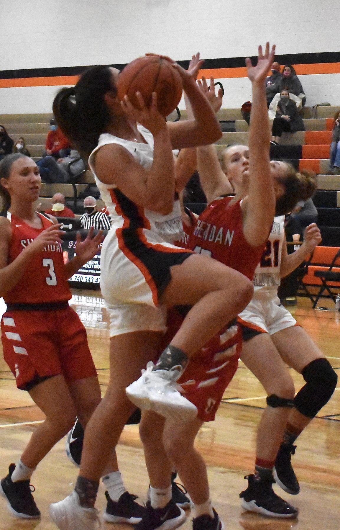 New Lexington vs Sheridan Girls Basketball