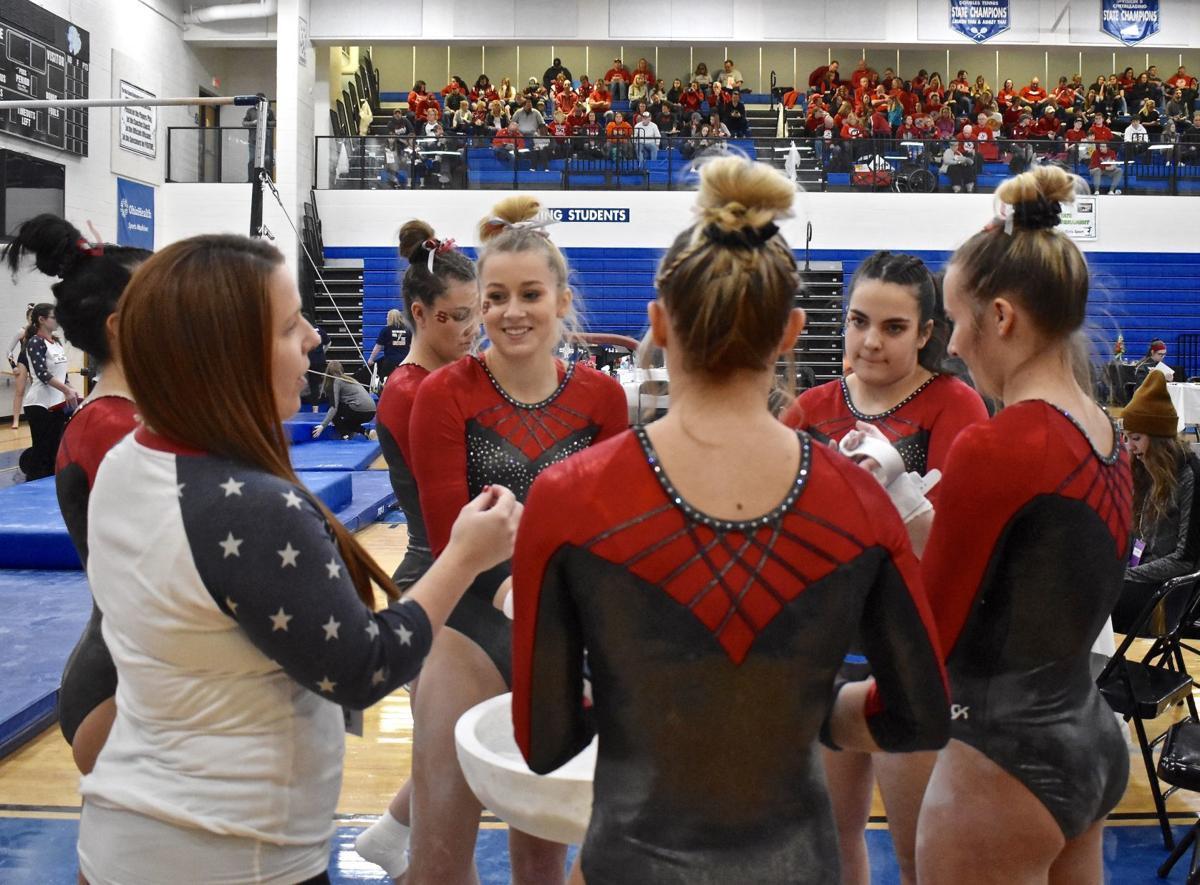 Sheridan Gymnastics at States