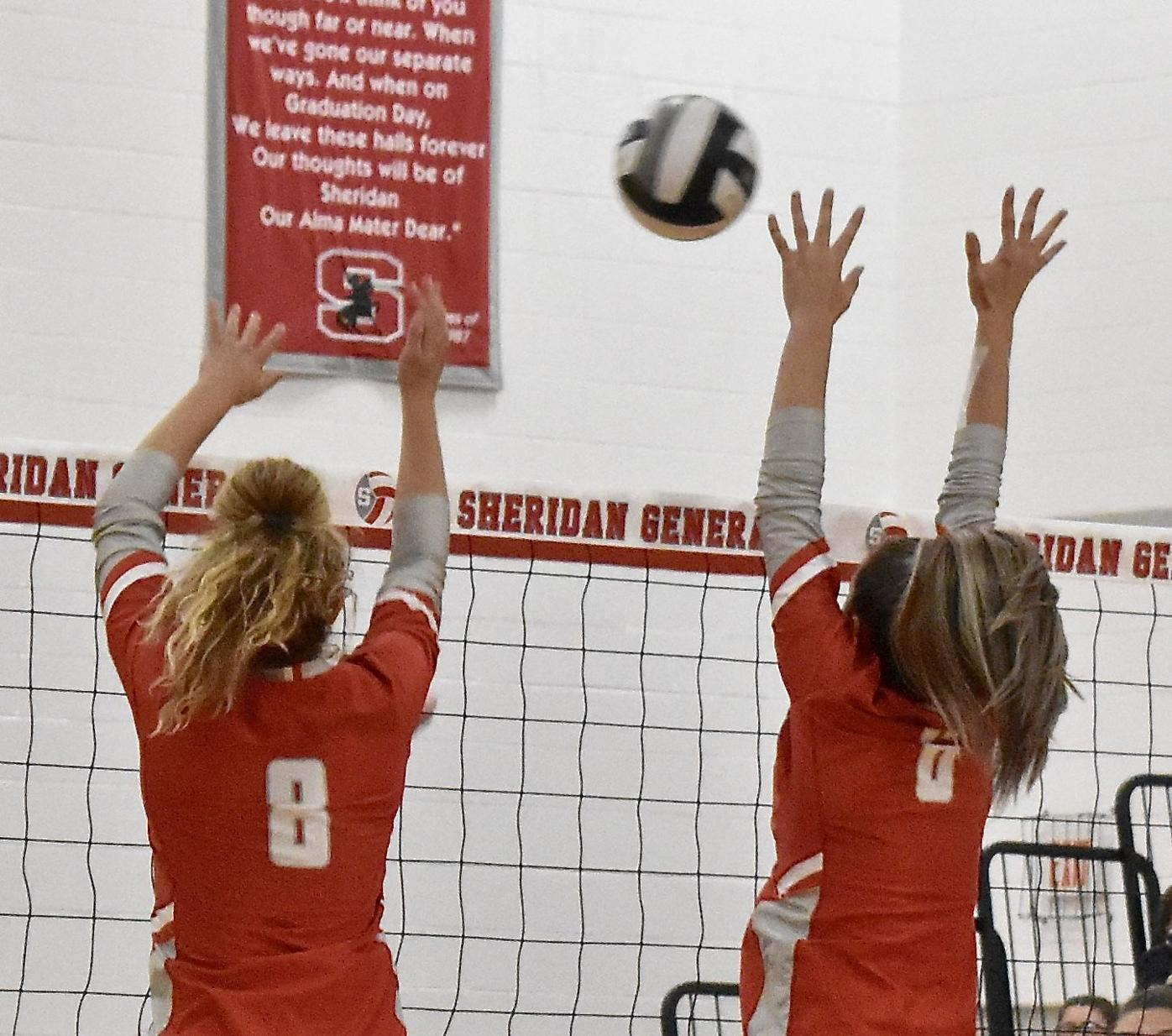 Sheridan vs Tri-Valley Volleyball