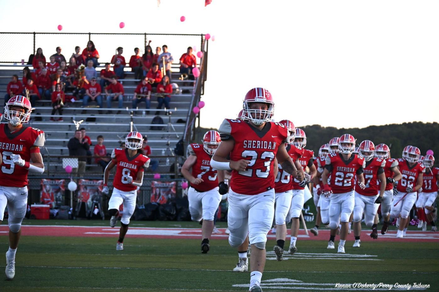 Football: Sheridan vs Maysville 10/02/21