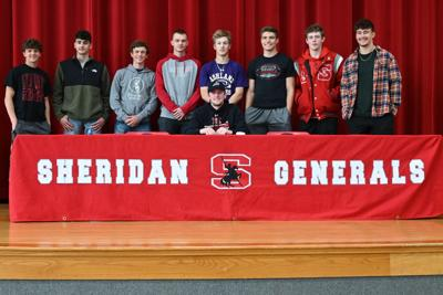 Landen Russell signing day