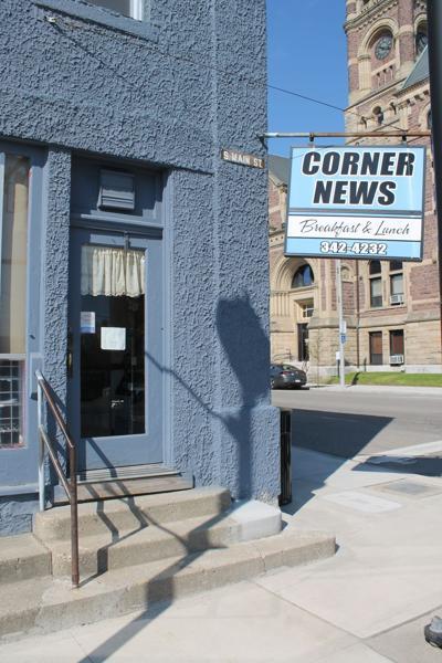 A change at Corner News