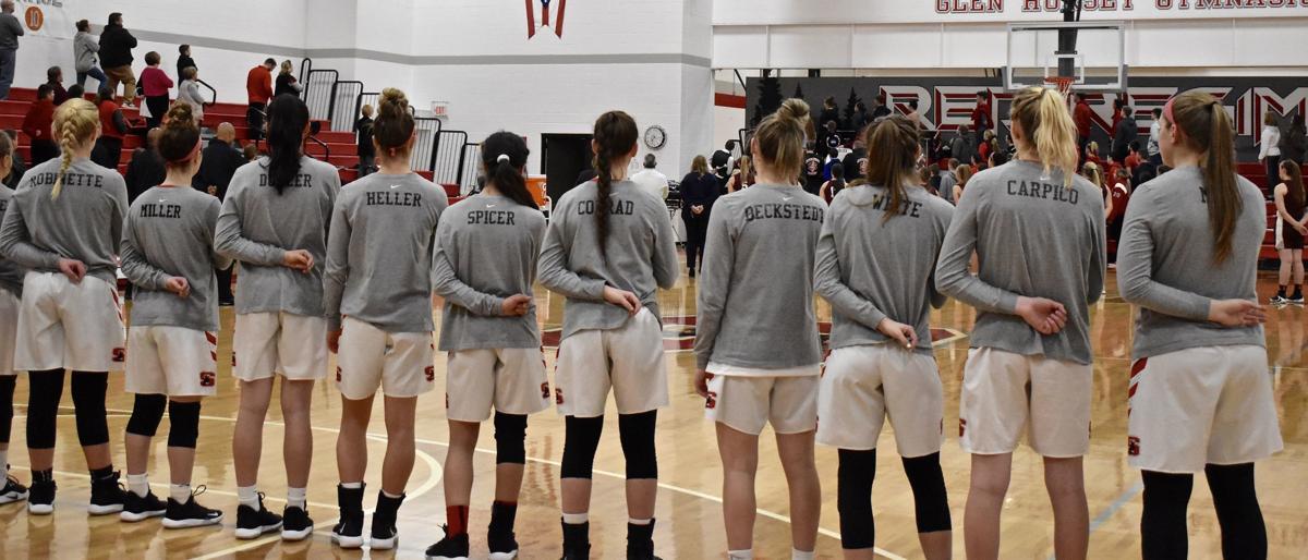 Sheridan vs John Glenn Girls Basketball (Senior Night)